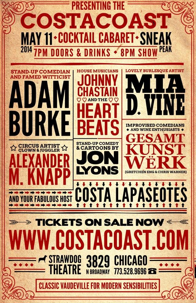 CostaCoastPoster